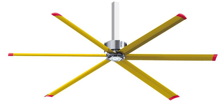 7米2润东方永磁直驱工业大风扇